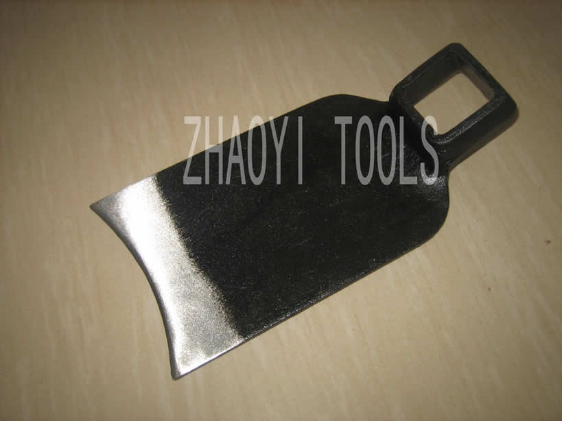 30010108 square hole forging hoe
