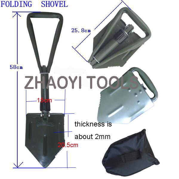 mini folding shovel