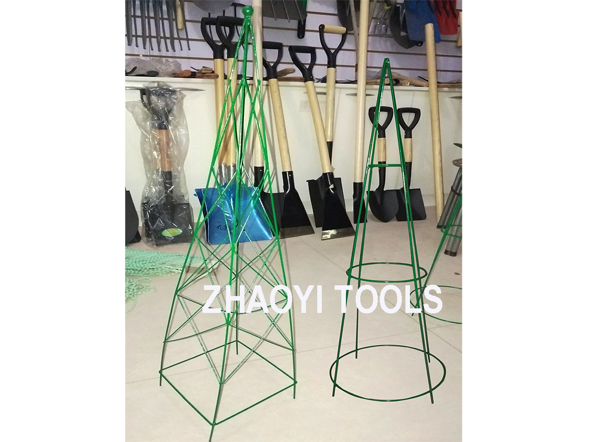 FS1001 1002 flower pot stand tomato plant cage support